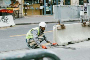 BHP w firmie - budowa dróg